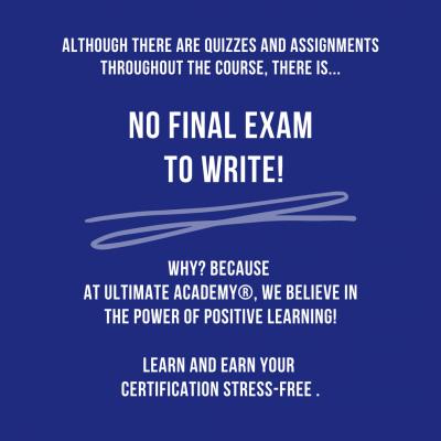 No Final Exam To Write